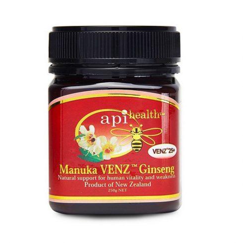 Apihealth Manuka VENZ méhméreggel és Ginzenggel 250 g