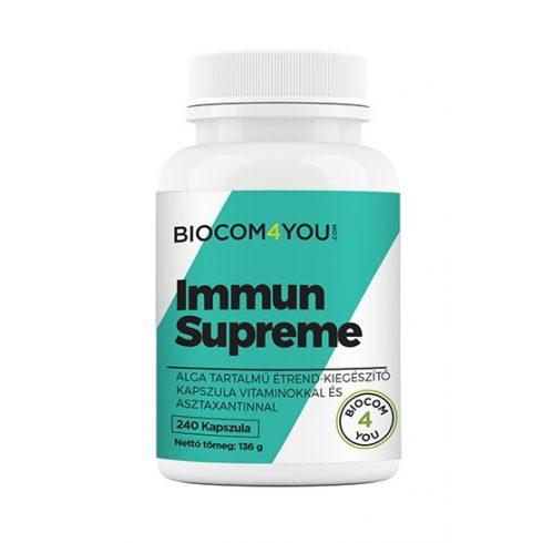 Biocom Ökonet Immun Supreme Spirulina és Chlorella tartalmú kapszula 240 db