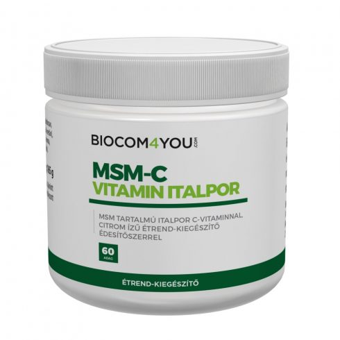 Biocom MSM-C vitamin italpor 165 g