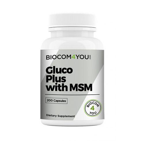 Biocom Ökonet Gluco Plus with MSM kapszula 200 db
