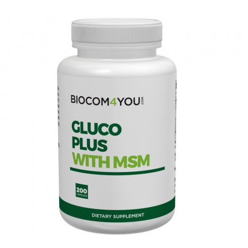 Biocom Ökonet Gluco Plus with MSM kapszula 200 db