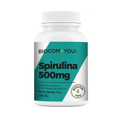 Biocom Spirulina kapszula 100 db