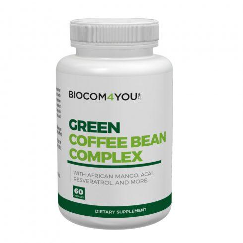 Biocom Green Coffee, zöld kávé Complex kapszula 60 db