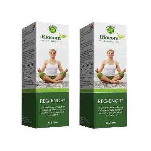 Biocom Reg-Enor (Regenor) Tejsavó C-vitaminnal 2 db - 2×500 ml