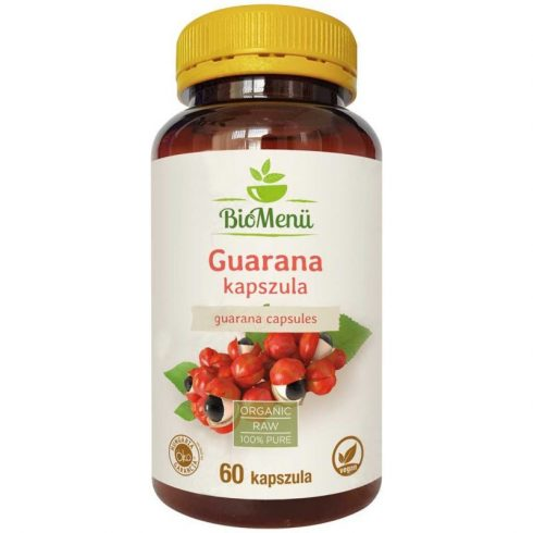 Biomenu Bio guarana kapszula