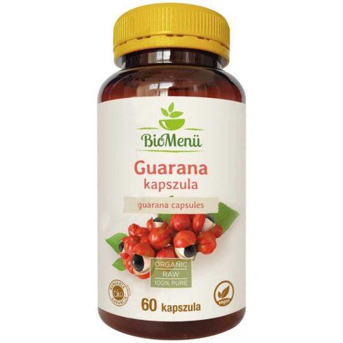 Biomenu Bio guarana kapszula