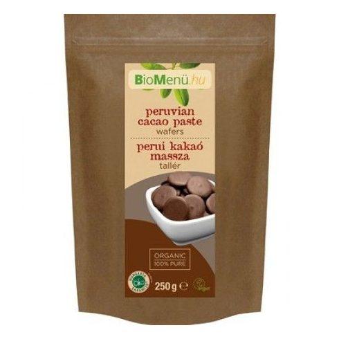 BioMenü bio perui kakaómassza tallér 250 g