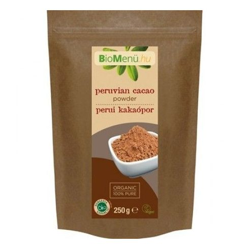 BioMenü bio perui kakaópor, 250 g