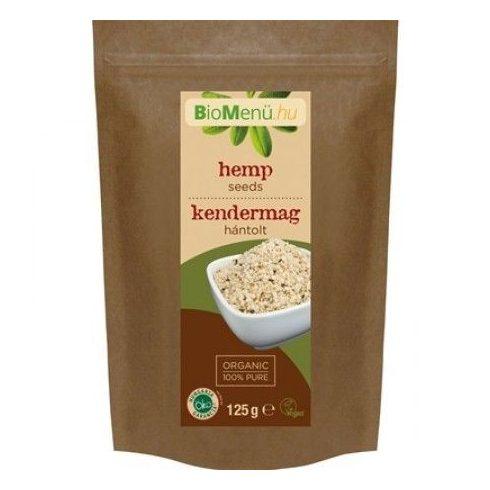 BioMenü bio kendermag hántolt 125 g