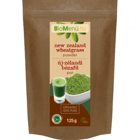 BioMenü bio új-zélandi búzafű por 125 g