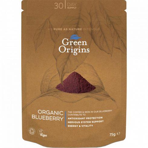 Green Origins bio blueberry áfonya kivonat por 75 g