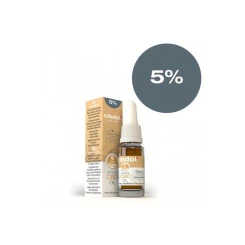 Cibdol CBD olaj 5%, 10 ml