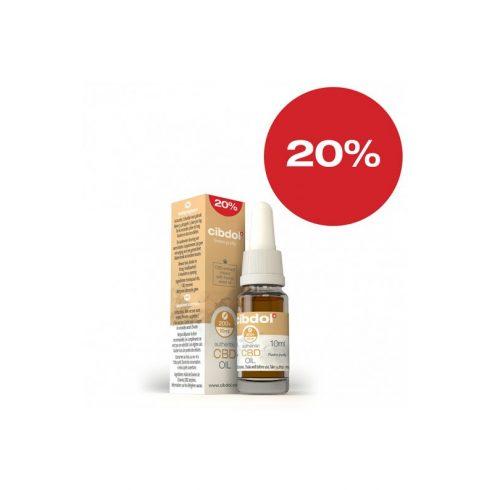 CIBDOL CBD olaj 20%, 10 ml