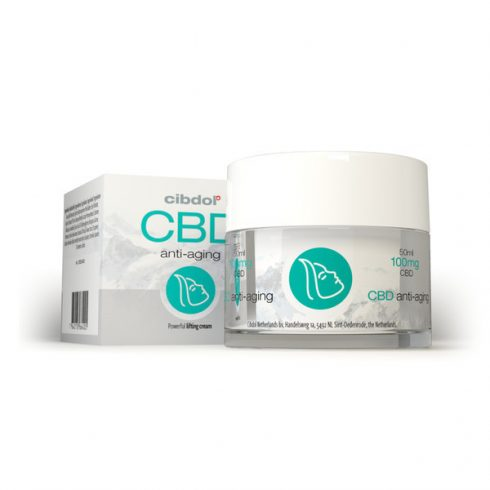 Cibdol Anti-aging krém CBD-vel 50 ml