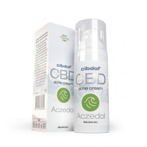 Cibdol Aczedol acne krém CBD-vel 50 ml