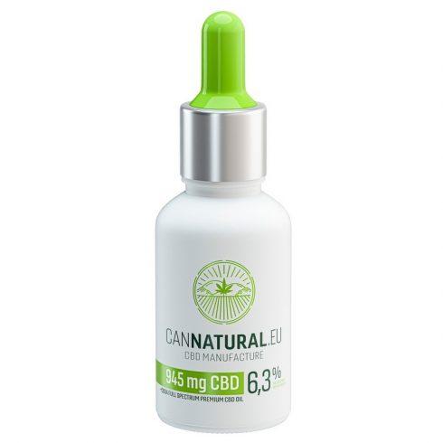 Cannatural 945 mg 6,3% Fullspektrum CBD Olaj 15 ml