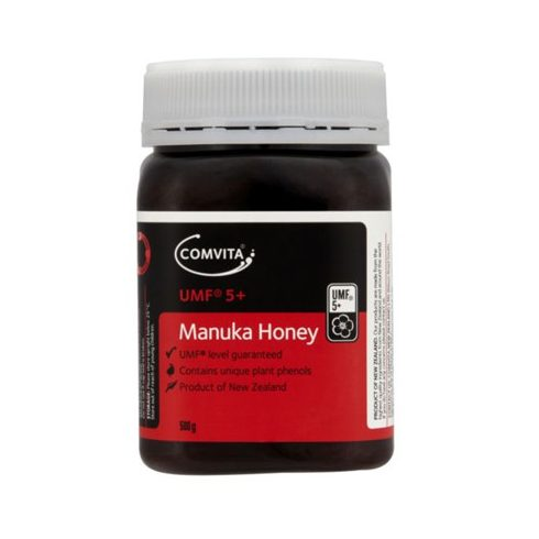 Comvita Manuka Méz UMF 5+ 100% Manuka növényből 250 g