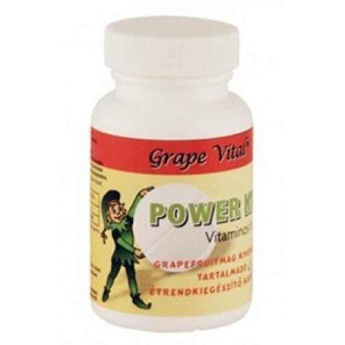 Dr.Csabai Grape Vital Power Kids tabletta 60 db