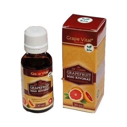 Grape Vital grapefruit mag kivonat 30 ml - Eredeti Dr.Csabai termék