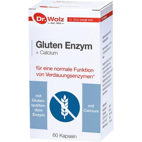 Dr.Wolz Gluten Enzym, glutén enzim kapszula 60 db