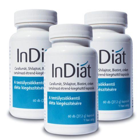 InDiat kapszula a diéta kiegészítésére 3x60 db
