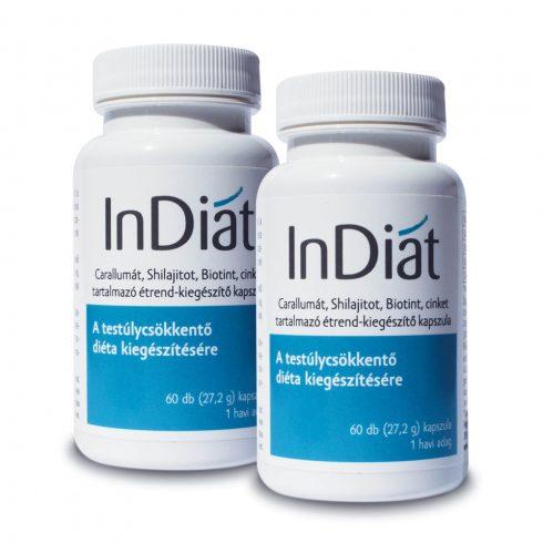 InDiat kapszula a diéta kiegészítésére 2x60 db