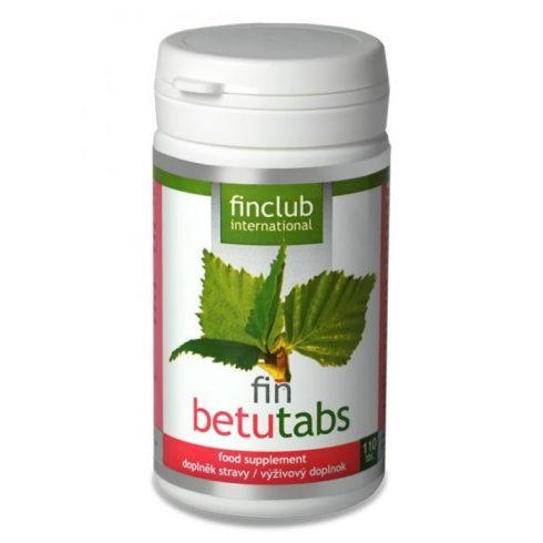 Fin Betutabs nyírfalevél kivonat tabletta 110 db