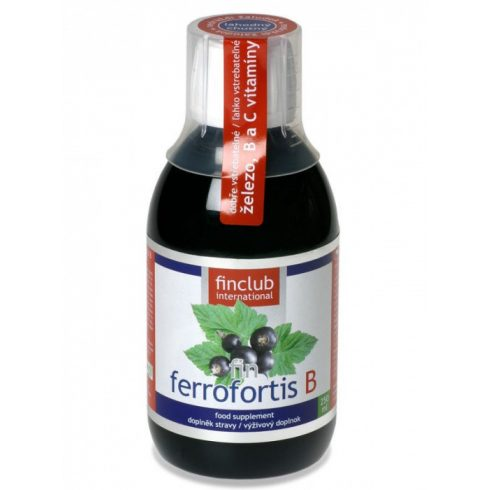 Fin Ferrofortis B szirup 250 ml