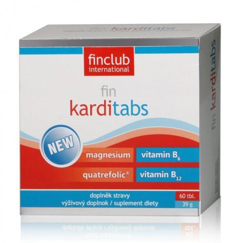 Fin Karditabs tabletta 60 db