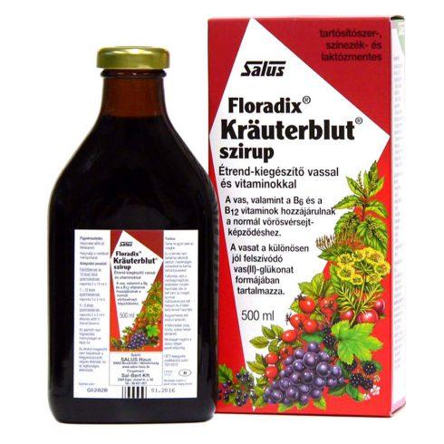 Floradix szirup vassal 500ml