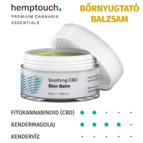 Hemptouch Nyugtató CBD bőrbalzsam (50 ml)