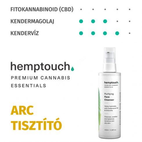Hemptouch Tisztító arclemosó (100 ml)