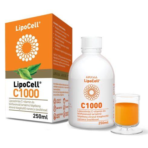 Hymato LipoCell C1000 liposzómás C-vitamin narancs ízben 250 ml