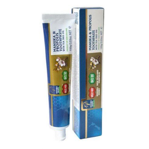 Manuka Health MGO 400 Manuka+propolisz+teafaolaj fogkrém 100 g