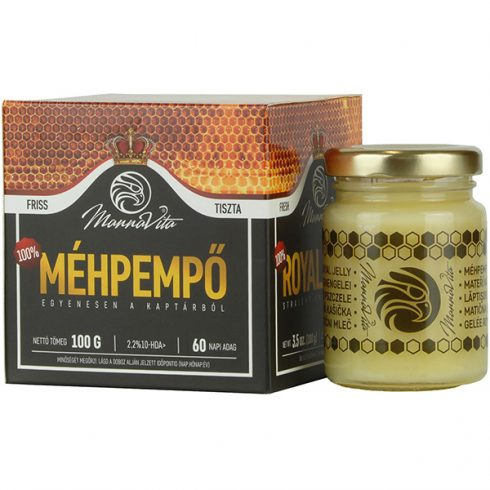 Mannavita 100% Méhpempő, hagyományos 100 g