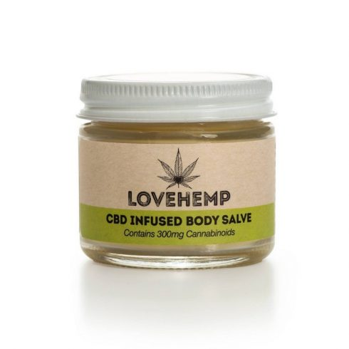 Love Hemp® 300 mg CBD Body Salve kenőcs 50 ml
