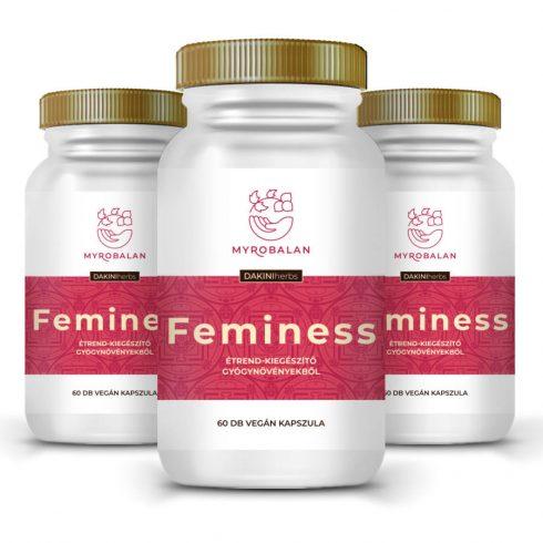 Myrobalan Feminess kapszula a könnyed változókorért 3x60 db