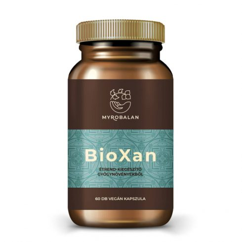 Myrobalan BioXan kiegyensúlyozó gyógynövény kapszula 60 db