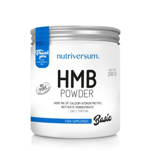 Nutriversum HMB Powder - Basic - 200 g