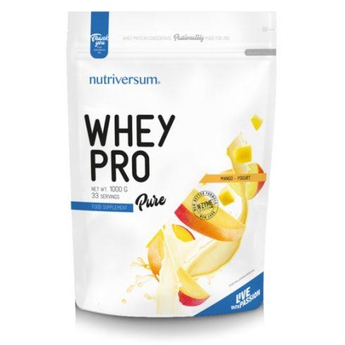 Nutriversum Whey Pro fehérjeturmix mangó-joghurt 1000 g