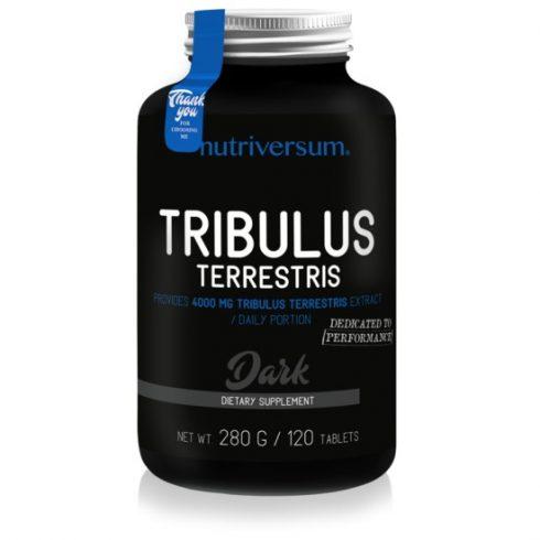 Nutriversum Tribulus Terrestris tesztoszteron tabletta - Dark - 120 db