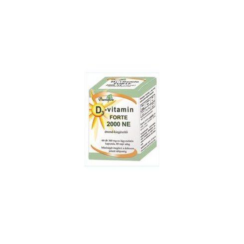 Pharmaforte D3-vitamin Forte 2000NE 60 db