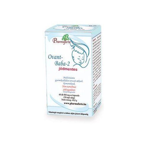 Pharmaforte Ovant-Baba-2 jódmentes kismamavitamin 60 db