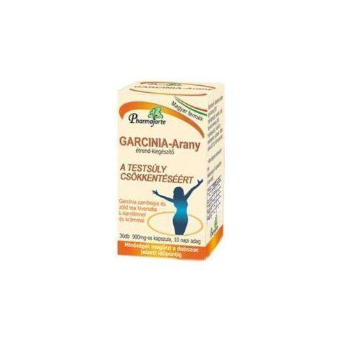 Pharmaforte Garcinia arany kapszula 30 db (10 napi adag)