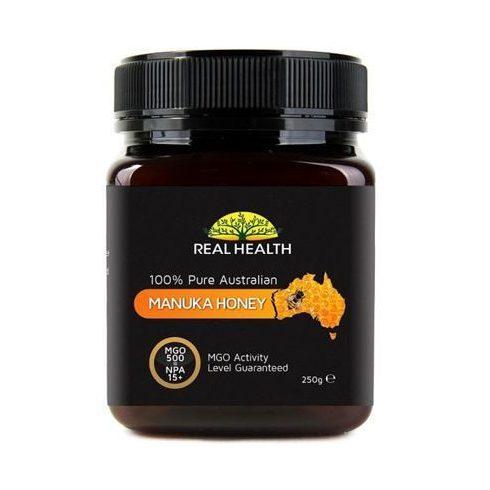 Real Health Manuka méz MGO 500+, 250 g