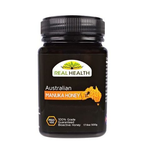 Real Health Manuka méz MGO 100+, 500 g