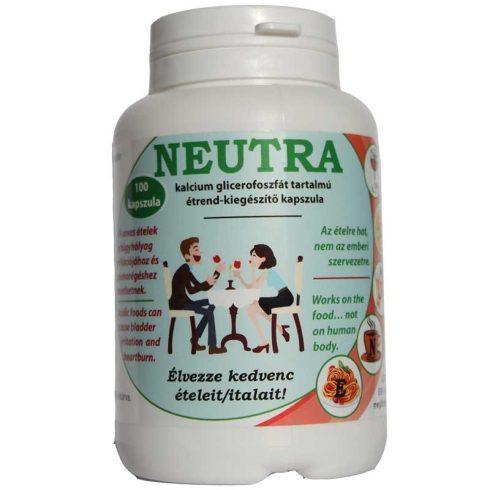Neutra kalcium glicerofoszfát tartalmú étrend-kiegészítő kapszula - 100 db