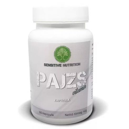 Sensitive Nutrition Pajzs vitamin kapszula 60 db