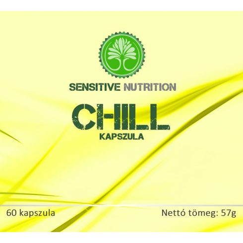 Sensitive Nutrition Chill kapszula 60 db