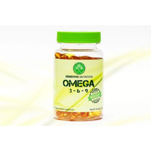 Sensitive Nutrition Omega 3-6-9 kapszula 60 db